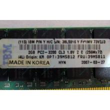IBM 39M5811 39M5812 2Gb (2048Mb) DDR2 ECC Reg memory (Муром)