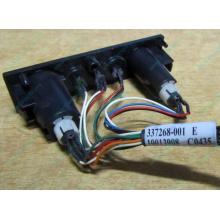 HP 224998-001 в Муроме, кнопка включения питания HP 224998-001 с кабелем для сервера HP ML370 G4 (Муром)