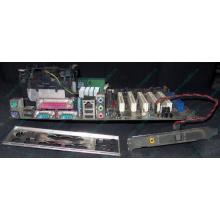 Материнская плата Asus P4PE (FireWire) с процессором Intel Pentium-4 2.4GHz s.478 и памятью 768Mb DDR1 Б/У (Муром)