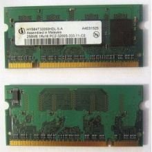 Модуль памяти для ноутбуков 256MB DDR2 SODIMM PC3200 (Муром)