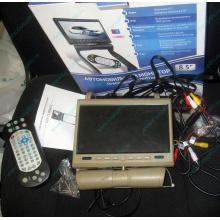 Автомобильный монитор с DVD-плейером и игрой AVIS AVS0916T бежевый (Муром)
